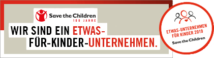 Knips-O-Mat und Save the Children
